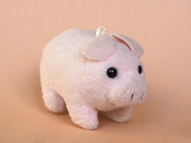 핑크 장난감 돼지