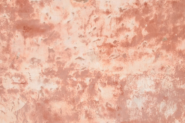 Pink wall of plaster, background, texture.