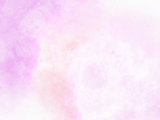 Розовый акварельный фон с абстрактной бахромой и брызгами краски, каплями и каплями
