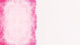 Copyspaceとピンクの水彩テクスチャ背景