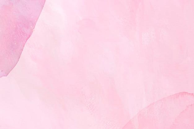 핑크 수채화 질감 배경