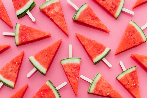 Pink watermelon background