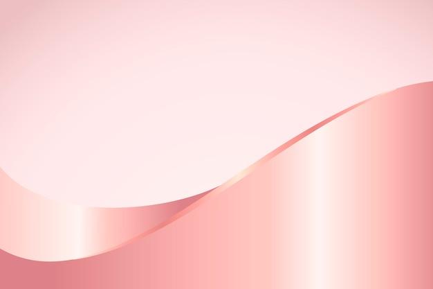 Розовая волна с рисунком фона