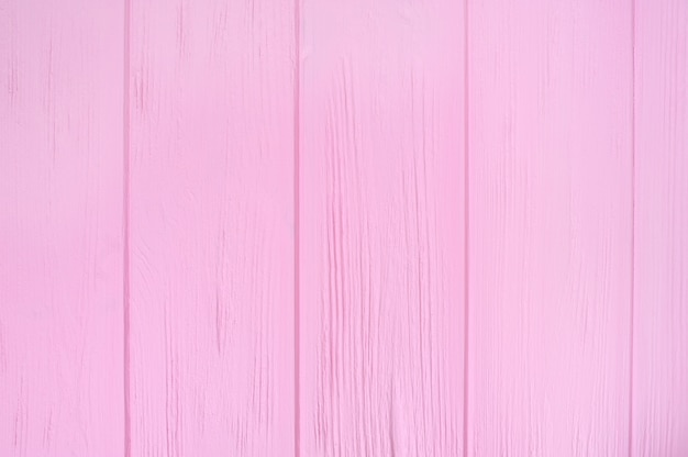 Pink wood floor texture . plank pattern surface pastel painted wall