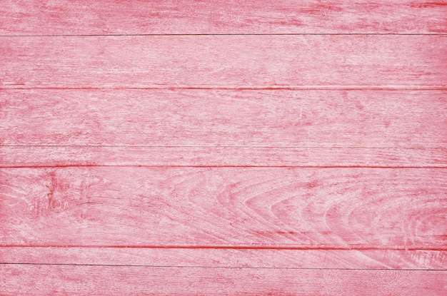 Pink wooden plank wall, texture of bark wood with old natural pattern.