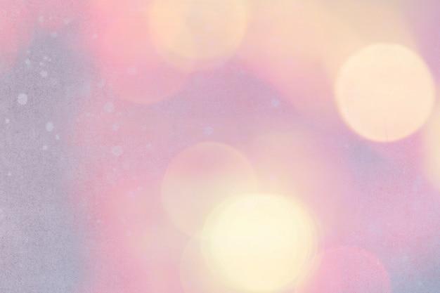 Pinkish bokeh patterned background illustration