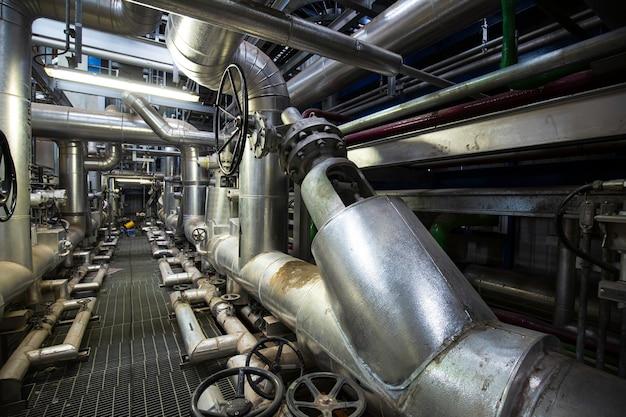 Изоляция трубопроводов и клапанов внутри электростанций диспетчерской