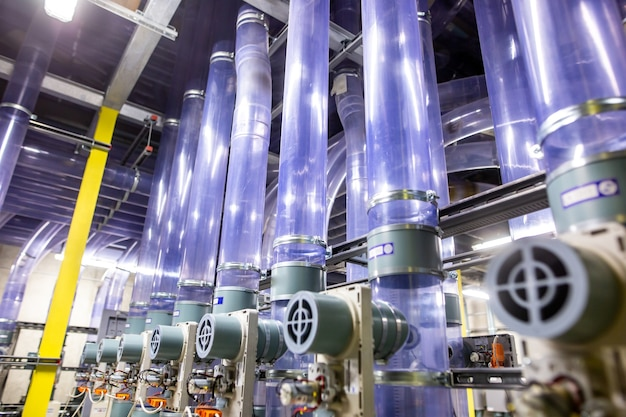 Трубопроводная почтовая транспортная логистика, трубопроводный центр распределения почты, концепция транспортировки товаров