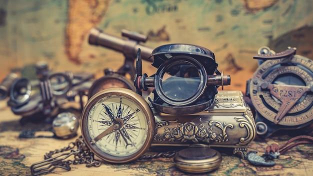 海賊航海真鍮コンパス