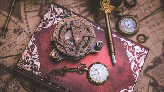 Pirate nautical compass