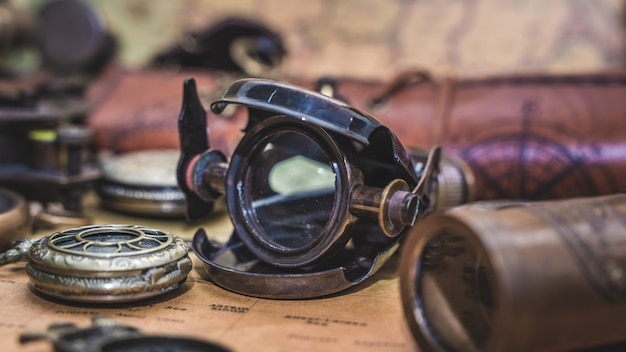 Пиратский телескоп на карте