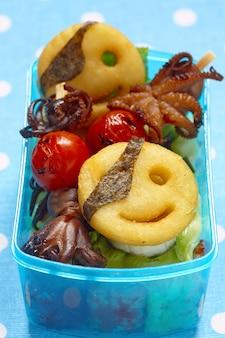 Pirates bento box for children