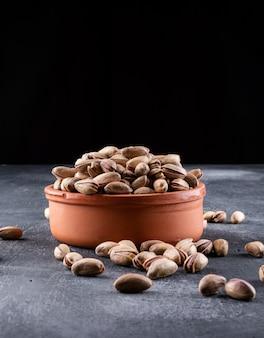 Pistachios in a bowl