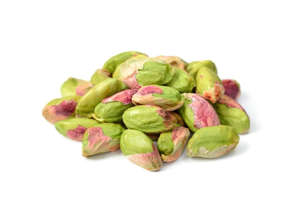Pistachios without shell isolated