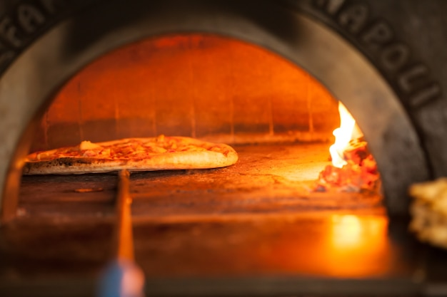 Выпечка пиццы