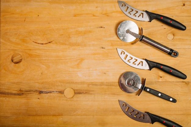 Резаки и ножи для пиццы