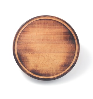 Pizza cutting board isolated