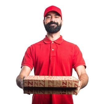 피자 배달원