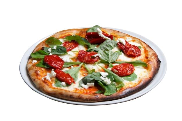 Пицца вяленые помидоры