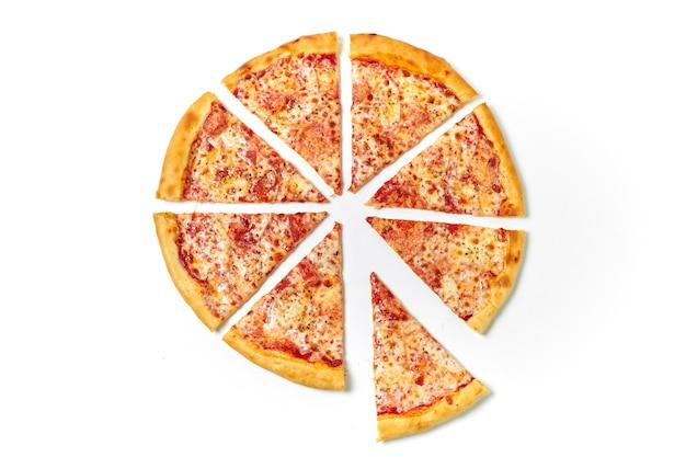 Пицца на кусочки