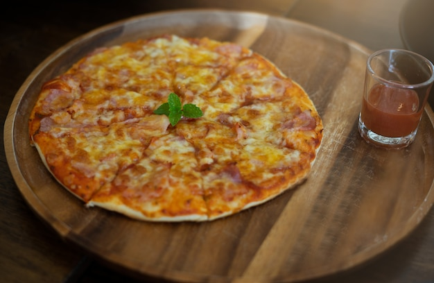Pizza is one of favorite italian food around the world