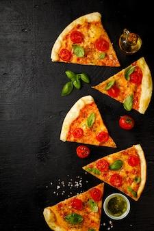 Pizza margarita .