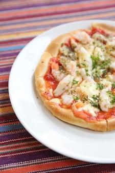 피자 해산물