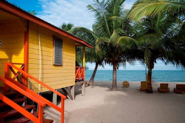 Placencia, house on beach