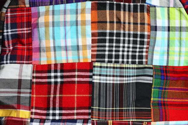Plaid check pattern