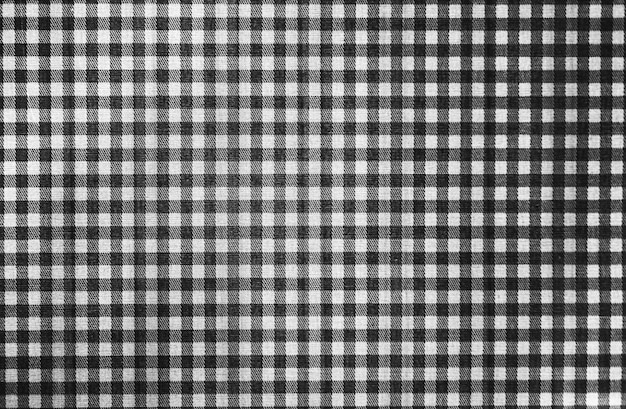 Plaid checker fabric industrial product