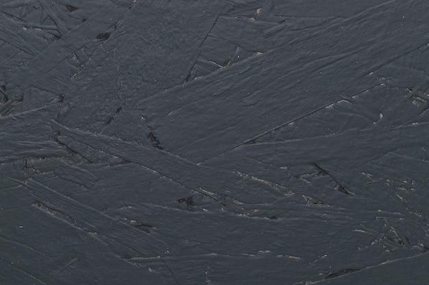 Plain black background made of concrete