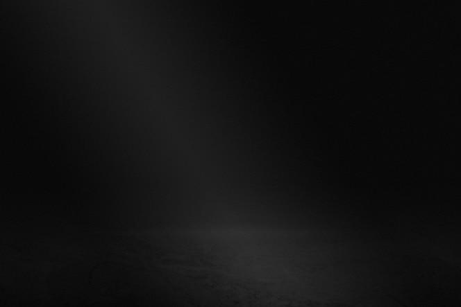Plain dark black wall product background