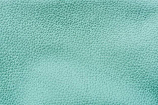 Plain teal leather textured background