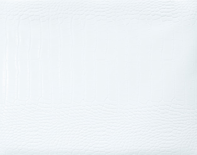 Plain white leather textured background