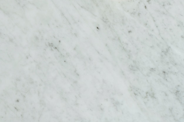 Plain white marble surfaced