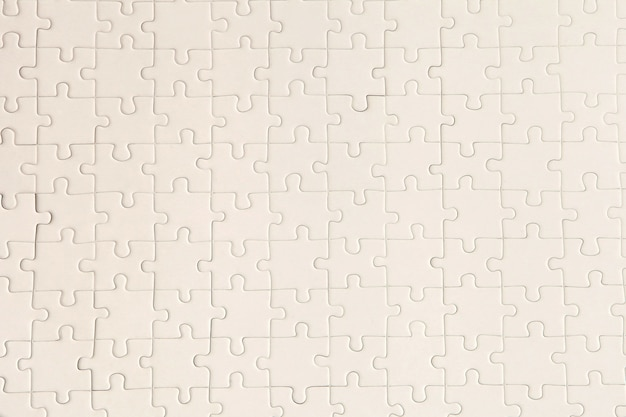 Plan white puzzle surface for textured backgroung and abstracted wallpaper. copy space for text