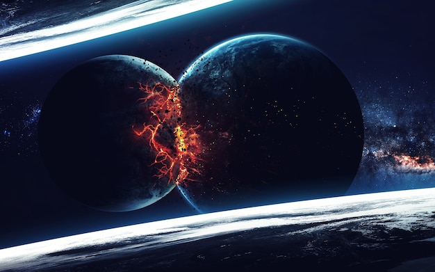 Планета взрыв