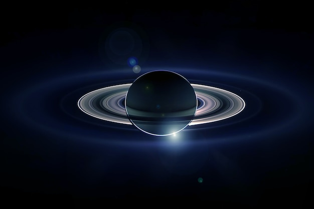 Planet saturn with rings elements of this image were furnished by nasa