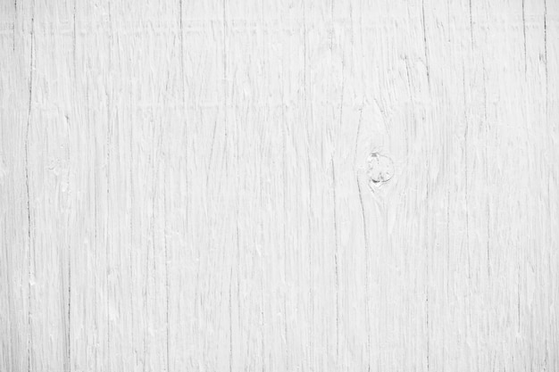 Plank striped timber desk, top view of white wood table