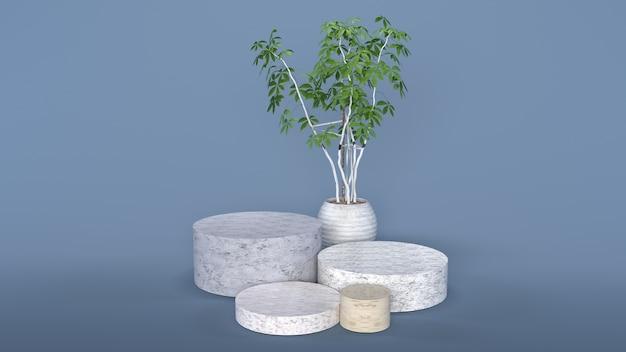 Растения и камни