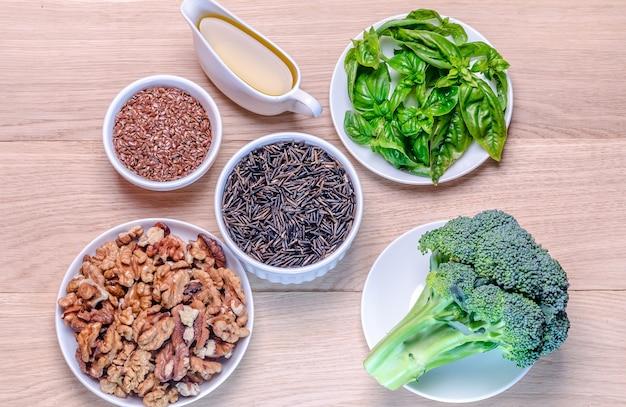 オメガ3酸の植物ベースの供給源