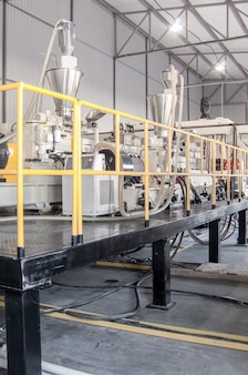 Plant and equipment for the production of durable polyethylene and polypropylene for packaging
