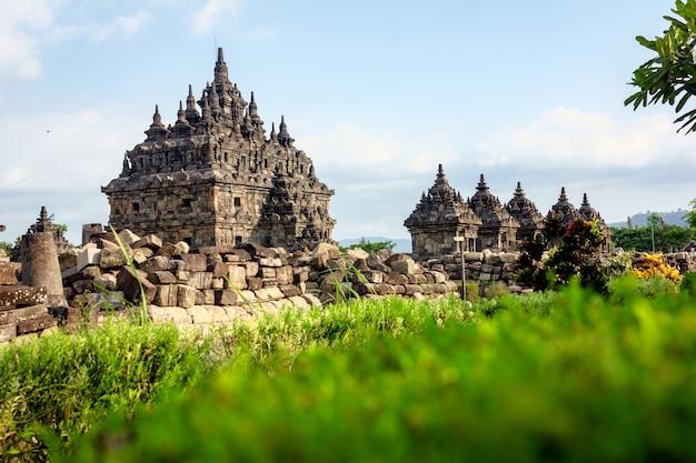 Plaosan temple, yogyakarta - indonesia