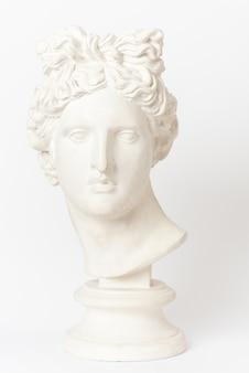 Гипсовая голова аполлона бельведера