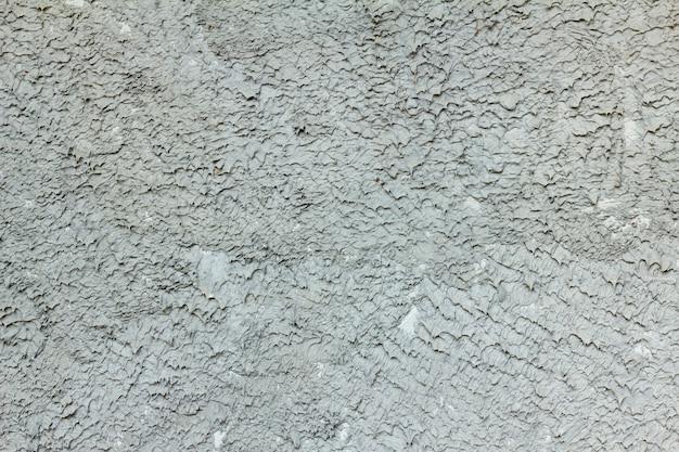 Plastered wall in big grain