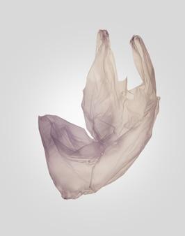 Plastic bag, plastic waste. zero waste and eco living concept