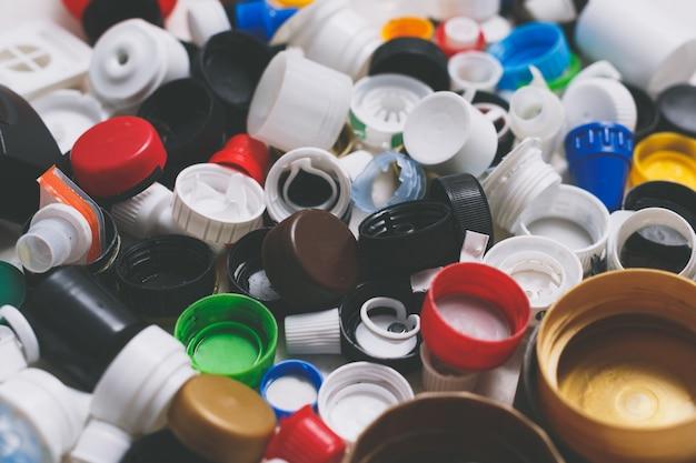 재활용 용 플라스틱 병마개