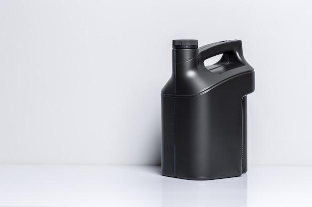 Plastic bottle of motor oil