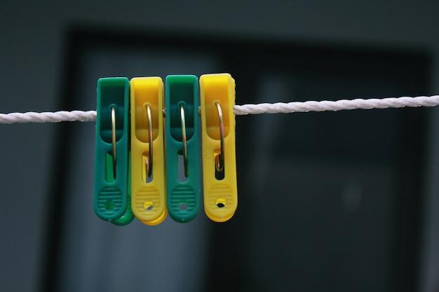 Plastic clip clothes