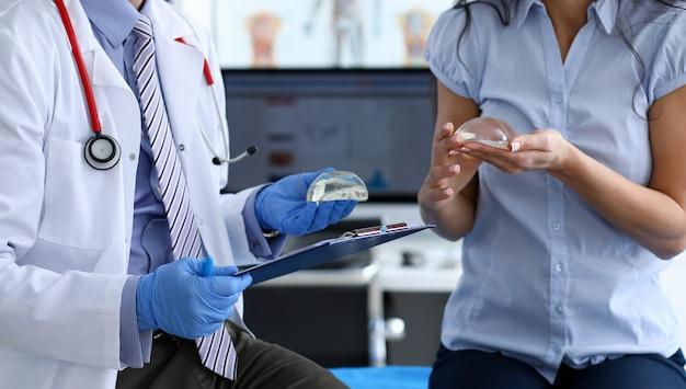 Plastic corrective surgery concept
